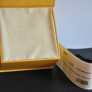 FENDI Jewelry - FENDI Bracelet F F Logo Baguette